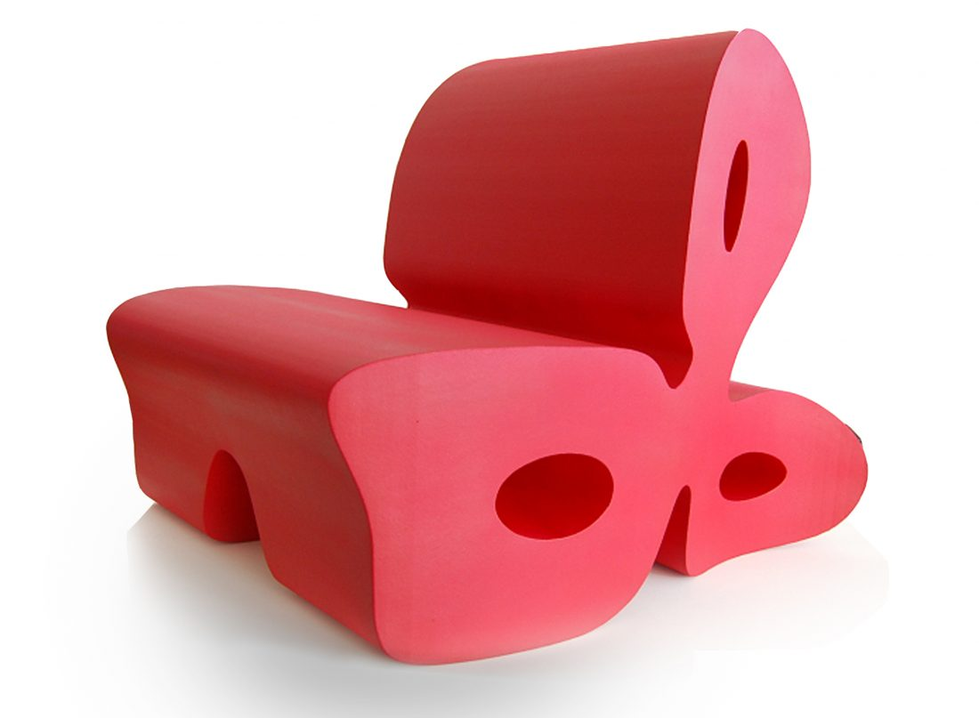 MASS PRODUCTION / Clover Chair / Manufactured By Foamtek, Italy